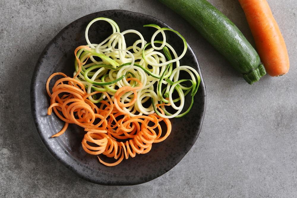 Espaguete de mix de legumes