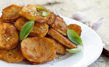 Batata-doce com agave e chia