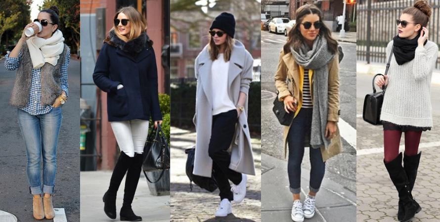 ideias de look sem salto para o inverno