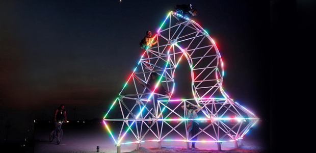 The Penrose Triangle | Burning Man