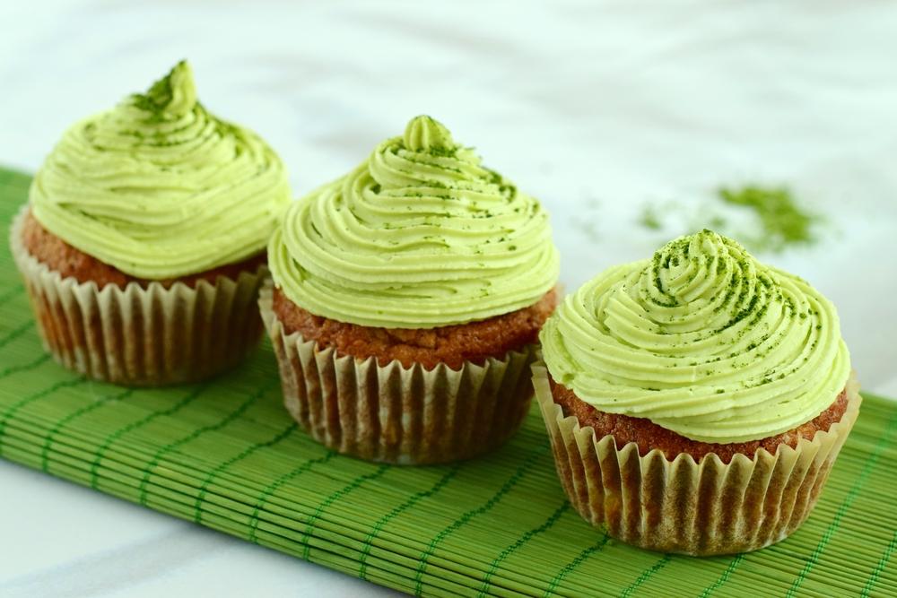 Cupcake de Matchá