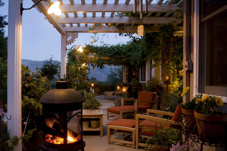 Jardim de inverno guia da semana for Terrace lighting