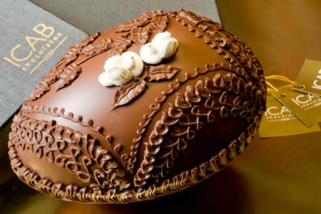Ovo Gianduia ICAB Chocolates