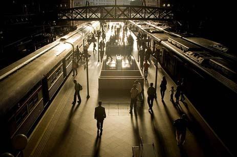 Estação da Luz por Peter Ogle