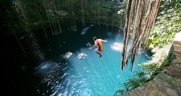 As 13 piscinas de gua natural mais incr veis do mundo Chichen itza mexico natural swimming pool