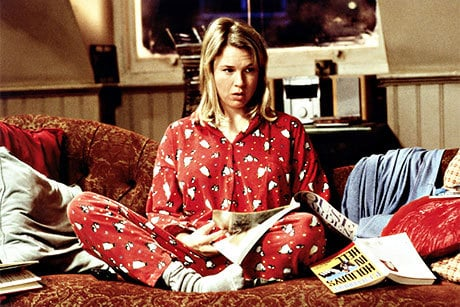 Renee Zellweger no papel de Bridget Jones