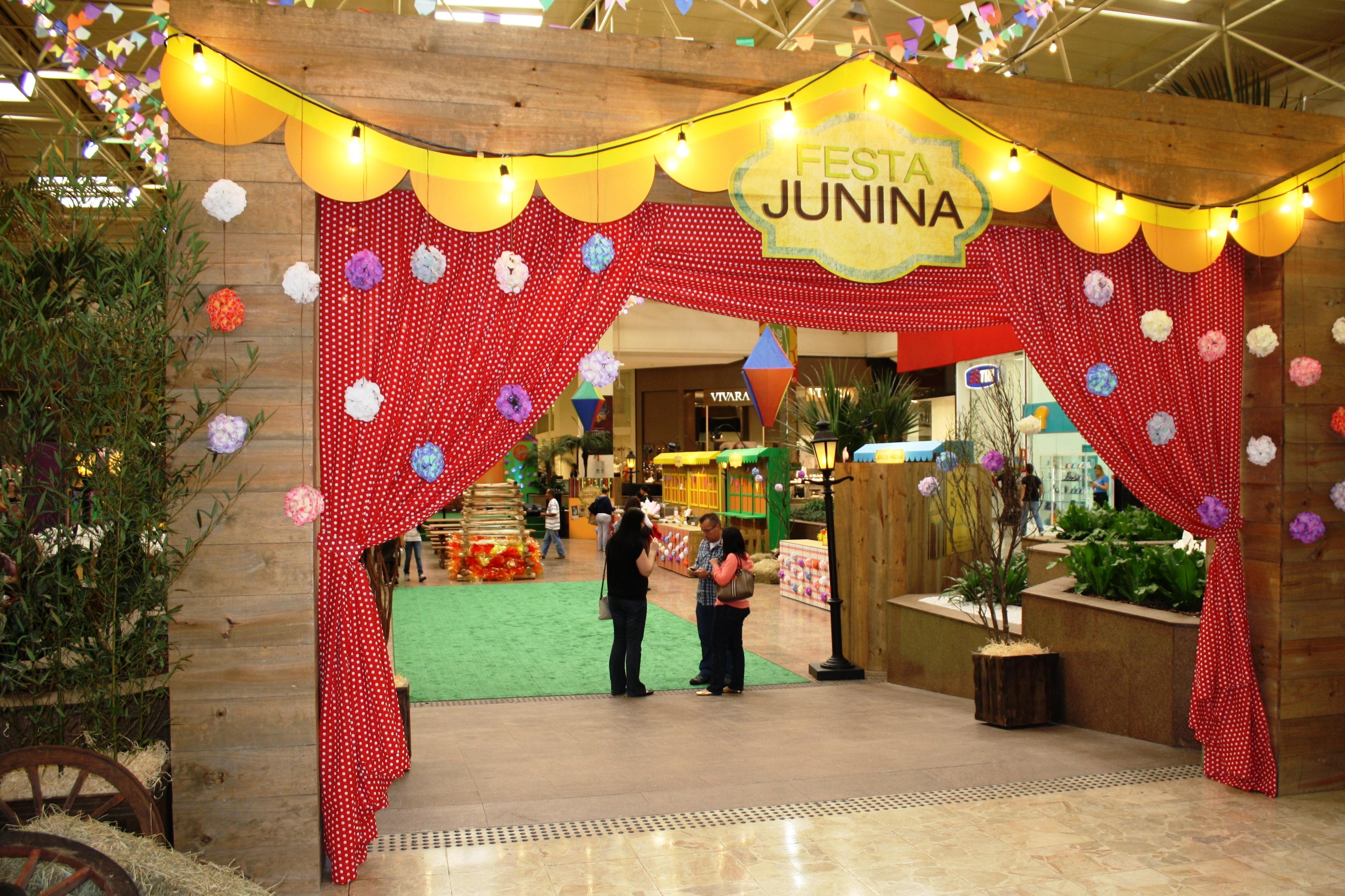 decoracao alternativa para festa junina:Festa Junina do Shopping Center Norte 2013 – Guia da Semana