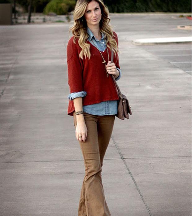 5 itens de moda que foram tend ncia no ver o e vamos usar for What color shirt goes with brown pants